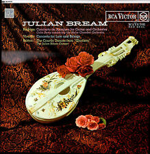 JULIAN BREAM: Rodrigo * Vivaldi * Britten * RCA LP * Decca UK Pressing * 1964