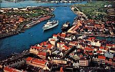 Curaçao Niederlande Nederland Antilles 1976 MS Southward Harbor Willemstad Hafen
