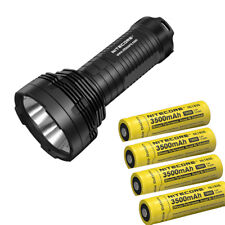 Nitecore TM16GT 3600 Lumens 4* CREE LEDs Searching Flashlight with 4 Batteries