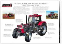 A3 Case IH International Cutaway Tractor Brochure Poster Leaflet CASE 1455XL!!