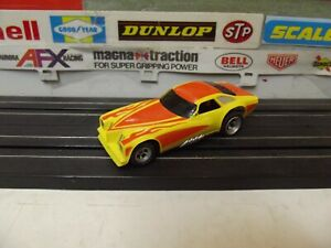 AURORA  AFX PONTIAC GRAND AM FUNNY CAR With 4-GEAR MAGNA-TRACTION CHASSIS