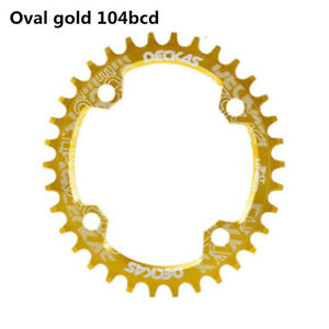 104BCD Oval Narrow Wide Single Speed Chainring MTB BMX Mountain bike bicycle