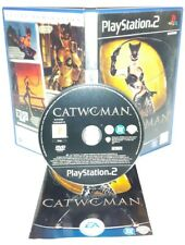 CATWOMAN CAT WOMAN DONNA GATTO - Ps2 Playstation Play Station 2 Gioco Game