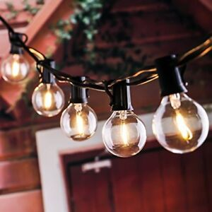50ft Indoor Outdoor LED String Light For Patio Backyard Garden Porch Lawn Party