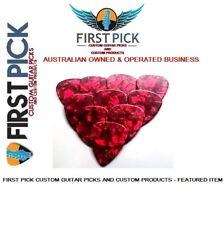 Guitar Picks pack of 10  Red Pearl 1.2mm  from First Pick Custom Guitar Picks