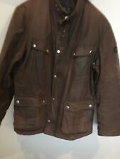 Mens Barbour Utility Jacket XL Brown