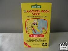 Sesame Street A Golden Book Video VHS Big Bird; Everyone Makes Mistakes