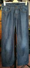 "Miss Sixty ""Wish"" boot cut button fly low rise blue jeans size 27 (UK W31 L34)"