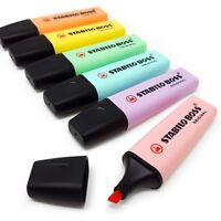 Stabilo Boss Pastel Highlighter Pen Markers - Singles - Buy 3, Get 1 Free
