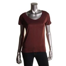 940bb64f4dd INC Red Snake Print Sheer Back Knit Pullover Top Tee Shirt Plus 0X - NEW