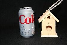 Wood Craft Birdhouse New Unfinished - 015