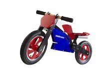Kiddimoto Superbike legno cycle bicicletta per equilibrio NUMERO