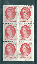 1965 5d Red Queen Booklet Pane cancelled to order. SUPERB.