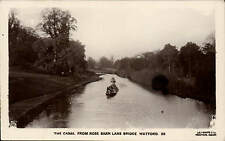 Watford. The Canal from Rose Barn Lane Bridge by Lilywhite # 59.