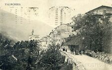 * VALMORBIA - Frazione di Vallarsa - Corriera 1924