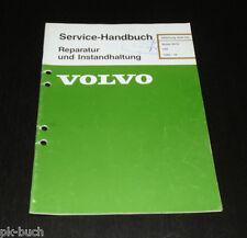 Werkstatthandbuch Volvo 340 Motor B 172 ab Baujahr 1985 Reparatur