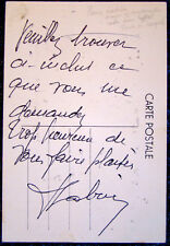 MONTMARTRE Mayor PIERRE LABRIC Signed Autograph / RODE BICYCLE DOWN EIFFEL TOWER