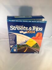 Microsoft Street & Trips 2004