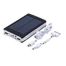 20000mAh Portable Super Solar Charger Dual USB External Battery Power Bank X