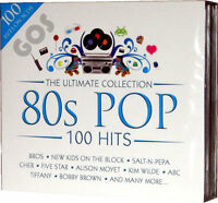 Ultimate Eighties 5 CD set of POP Songs 1980s Music Tracks Original Recordings