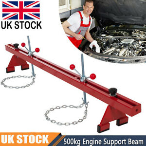 1102lbs Engine Support Beam Gearbox Bar Double Support Traverse Lifter Lift UK