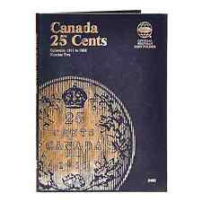 Whitman Coin Folder 2482 CANADA 25 Cents 1911-1952 Volume 2