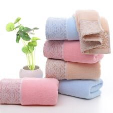 Face Hand Towel Absorbent Quick Drying Bathroom Washcloth Shower Towel Soft Home