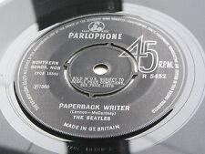 THE BEATLES   ORIGINAL  1966 UK 45  PAPERBACK WRITER