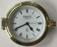 Vintage WEMPE Chronometerwerke SHIP CLOCK, 140mm, Made in Germany - New in Box