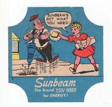 Sunbeam - OCCUPATIONS - Bread End Label - Little Miss Sunshine - JACK HAMMER