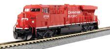 Kato # 1768935 GE ES44AC GEVO - Standard DC Canadian Pacific 8743 N MIB