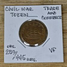 Civil War Token, Trade And Commerce, Obverse 259, Reverse 445