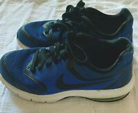 NIKE Air Max Size 3.5Y  Boys Shoes Sneakers Blue And Black