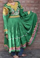Afghan Nomad Attire Handmade Costume Tribal Ethnic Banjara 70s OLD Kuchi Dress
