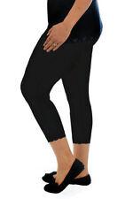 Cotton Blend Machine Washable Plus Size Pants for Women