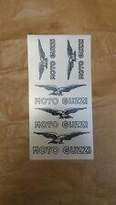 Emblema adesivo Moto Guzzi originale dell'epoca, decalcomanie
