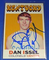 DAN ISSEL signed autograph rookie 1971-72 Topps Denver Nuggets ABA