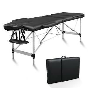 Mobile Alu Massageliege Massagetisch Massagebank Klappbar 3 Zonen Tasche