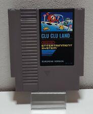 Clu Land - Nintendo/ Nes Pal Cartridge Game C43