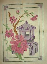Finished Cross Stitch - Oriental themed