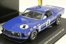 SCALEXTRIC C2576 PETER REVSON BOSS 302 MUSTANG NEW IN DISPALY CASE 1/32 SLOT CAR