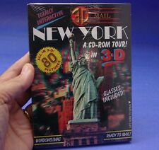 New York in 3D - A CD ROM TOUR - Anaglyph stereo images - 80 pictures