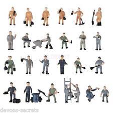 More details for model railway train people figures ho oo gauge 15-22mm workman workmen m9