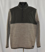 NWT G.H. Bass & Co. Men's 1/4 Zip Pullover Mixed Media Jacket - Variety Avail.