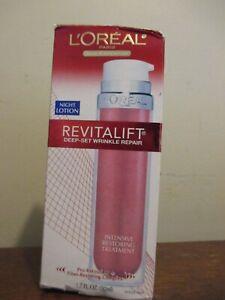 L'Oreal RevitaLift Deep-Set Wrinkle Repair Night Creme 1.7 oz