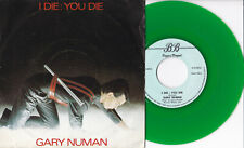 "Gary Numan ‎-I Die: You Die / Down In The Park (Piano Version)- 7"" 45 colored"
