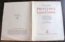 LAMBERT MAURICE DE , Sites choisis de Provence te de Languedoc, gravures sur cui