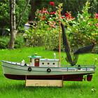 RC model fishing boat NAXOS motor yacht - FRP Hull and Plywood Boat DIY Kit set