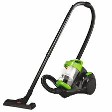 Green Canister Bagless Vacuum Cleaner with 15 ft Cord, Cyclonic Powerful Suction