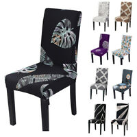 Spandex Stretch Wedding Banquet Chair Cover Party Decor Dining Room Seat Cover #